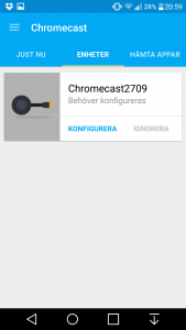 Chromecast 2 installation